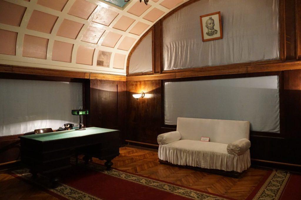 Stalins Büro im Bunker. | Foto: Hannes O.